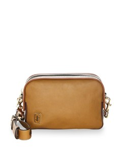 Squeeze Leather Crossbody Bag