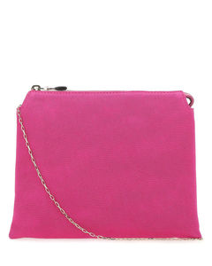 GINNY INTERWOVEN CHAIN FLAP BAG