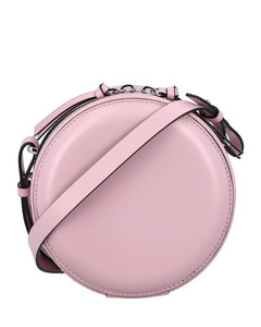 Duetto Bicolor Leather Shoulder Bag