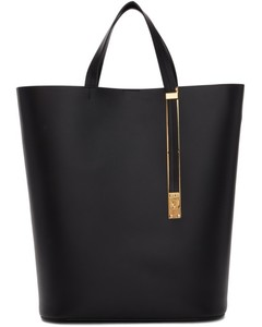 Black North South Exchange Tote