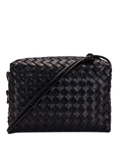 Falabella Shaggy Deer Backpack in Black