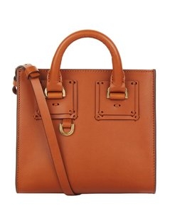 Leather Albion Box Tote Bag
