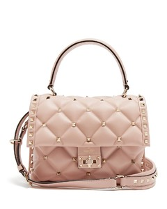 Candystud quilted-leather shoulder bag