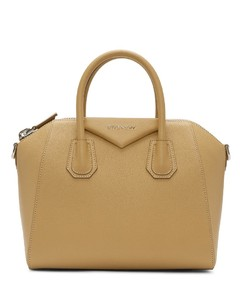 Beige Small Antigona Bag