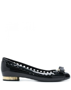Jelly Leather Ballet Flat