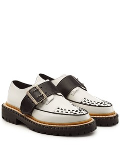 Mason Buckle Strap Leather Creepers