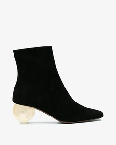 Black Moon 55 Suede ankle boots