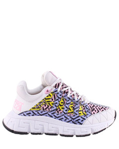 Suede-bow leather loafers