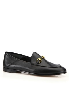 Brixton Foldable Leather Loafers