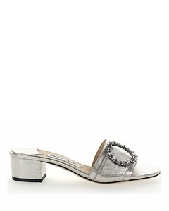 Loafer GRANGER 35 nappa leather silver jewellery ornament