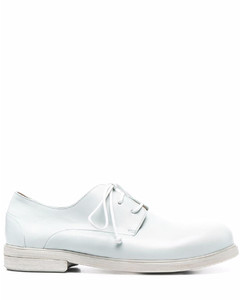 Princetown fur-lined backless jacquard loafers