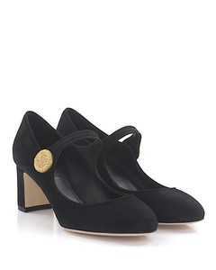 Pumps Mary Jane suede black