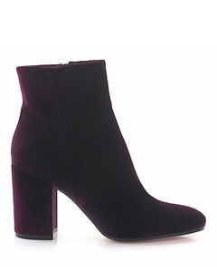 Ankle Boots Rolling 85 velvet purple
