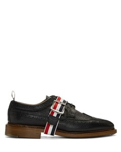 Black Classic Longwing Brogues