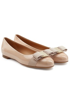 Varina Patent Leather Ballet Flats