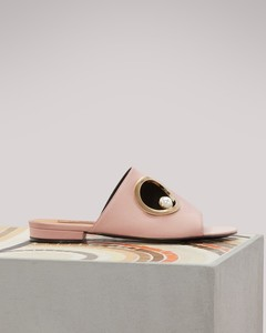 Leather Marianna mules