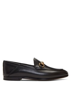 Black Brixton Crushback Loafers