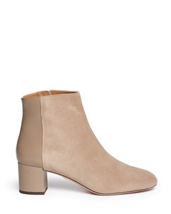 'Brooklyn' suede and leather ankle boots