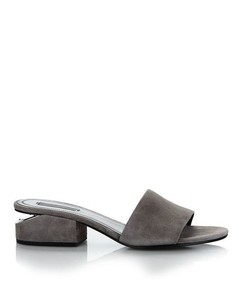 EXCLUSIVE LOU SUEDE SANDAL WITH RHODIUM Exclusive
