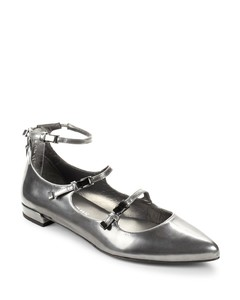 Flippy Patent Leather Buckle Flats