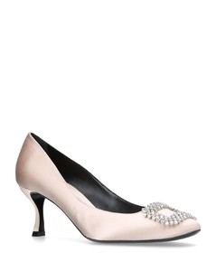 Satin Vertigo Diadem Pumps 65