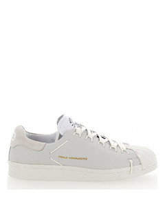 Sneakers SUPER KNOT suede grey leather white