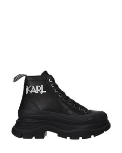 Rose Gold Selyse 75 platform sneakers