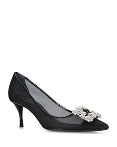 Sheer Flower Pumps 65