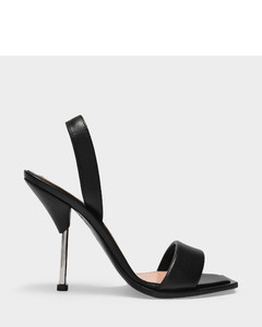 Shearling Vintage Check slides