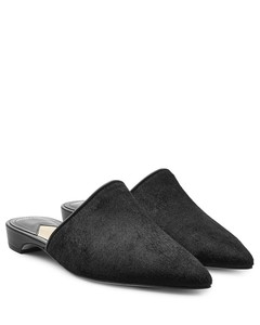 Binx Star Patent Faux-Leather Platform Loafers