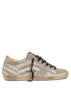 Super Star low-top chevron-print trainers