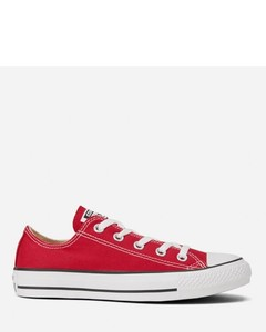 Unisex Chuck Taylor All Star OX Canvas Trainers - Red