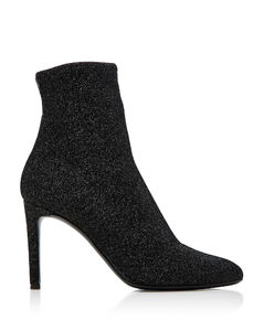 Natalie Stretch-Knit Ankle Boots