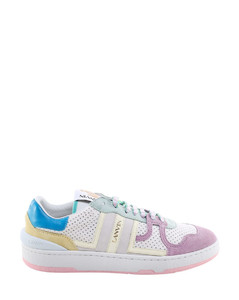 Whip Stitched Chain Suede Ankle Boots in Black