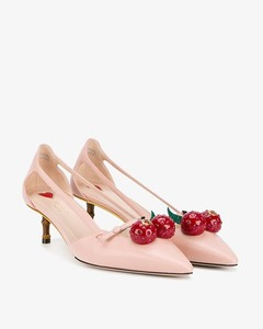 Unia embellished pumps