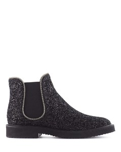 GLITTER CHELSEA BOOTS