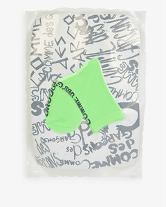 OFF WHITE C/O VIRGIL ABLOH YELLOW INDUSTRIAL BELT WITH BLACK BUCKLE
