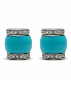 VIII Grand Bal Diamond, Mother-Of-Pearl, White Ceramic & Stainless Steel Automatic Bracelet Watch