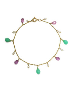 VIII Grand Bal Diamond, Black Mother-Of-Pearl, Black Ceramic & Stainless Steel Automatic Bracelet Watch