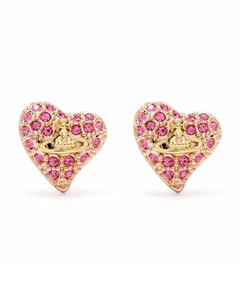 Diamond, opal & rose-gold necklace