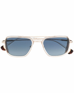 Diamantissima Diamond, Mother-Of-Pearl, Stainless Steel & Lizard Strap Watch