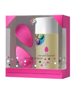Two.BB.Clean (2 Sponges, 150ml Cleanser)