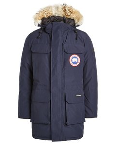 Citadel Down Parka with Fur-Trimmed Hood