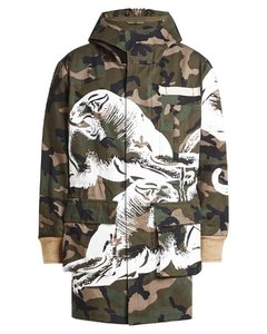 Printed Cotton Parka