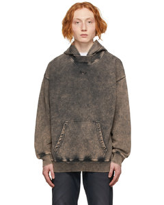 Double-cuff cotton-poplin shirt