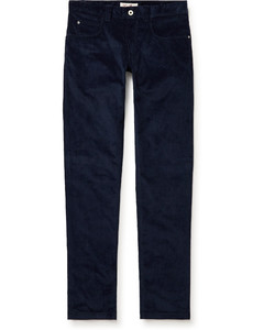 Monster and cat-embroidered slim-leg jeans
