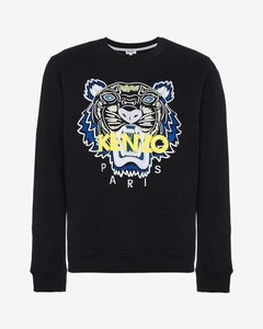 tiger applique sweatshirt