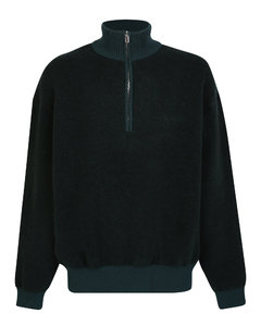 Grey Wool Ample Trousers