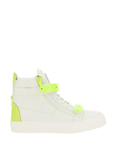 Men's Triple S Mesh & Leather Sneaker, Yellow