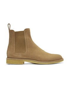 Tan Suede Classic Chelsea Boots